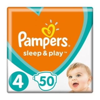 Pampers Sleep & play maxi 50 ks